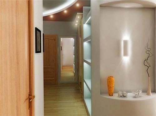 освещение коридора фото