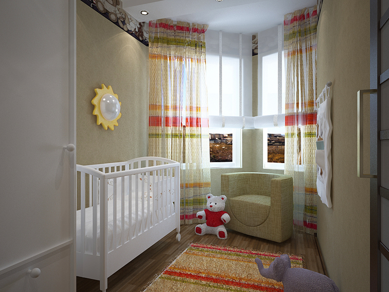 Ремонт квартир детских комнат фото