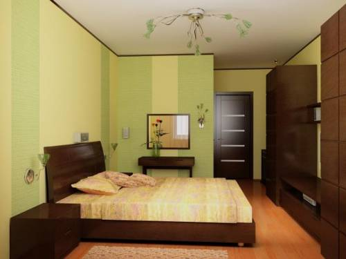 В японском стиле интерьер спальни в