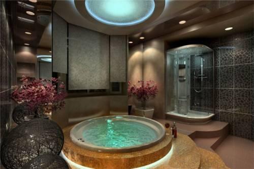 Дизайн черный ванная комната дизайн