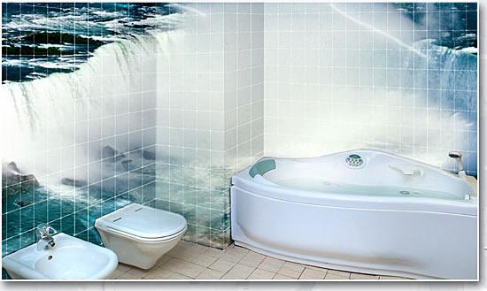 Ванная комната дизайн в 3d